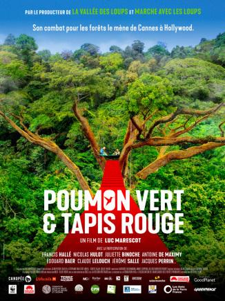Affiche film poumon vert et tapis rouge